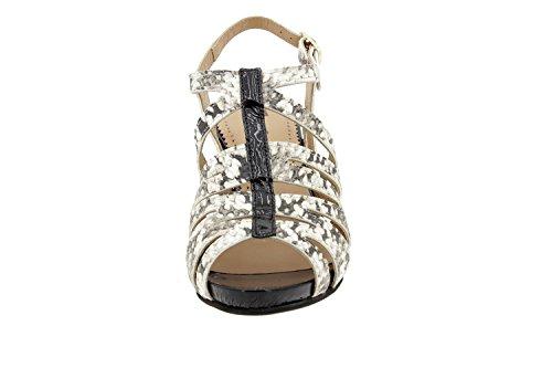 High Heel Schuhe, grob ferse schuhe, Fisch Mund spitzen, Sandalen, Damen, schwarz, 40