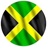 DJ Record Turntable Slipmats JAMAICAN COUNTRY FLAG SLIPMAT x 1 (Single) birthday funny gift for him for her