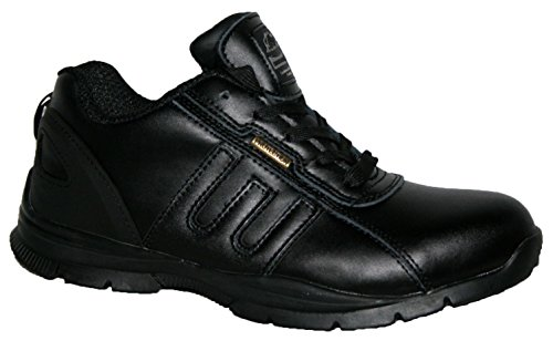 3d04f03acc3 Groundwork MENS GR86 LIGHTWEIGHT LEATHER UPPERS, STEEL TOE CAP LACE UP  SAFETY TRAINER.