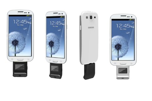 System-S Micro USB Mini Alkohol Testgerät Tester LCD für Smartphone Handy