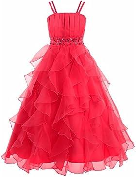 YiZYiF Festliches Mädchen Kleid