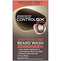 ‏‪Just For Men Control GX Grey Reducing Beard Wash, Gradually Colors Mustache and Beard, 4 Fl Oz‬‏