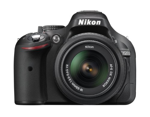 Nikon D5200 24.1 MP CMOS Digital SLR with 18-55mm f/3.5-5.6 AF-S DX VR NIKKOR Zoom Lens (Black)  available at amazon for Rs.75550