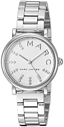 Marc Jacobs Women's 'Roxy' Quartz Stainless Steel Casual Watch, Color:Silver-Toned (Model: MJ3568)