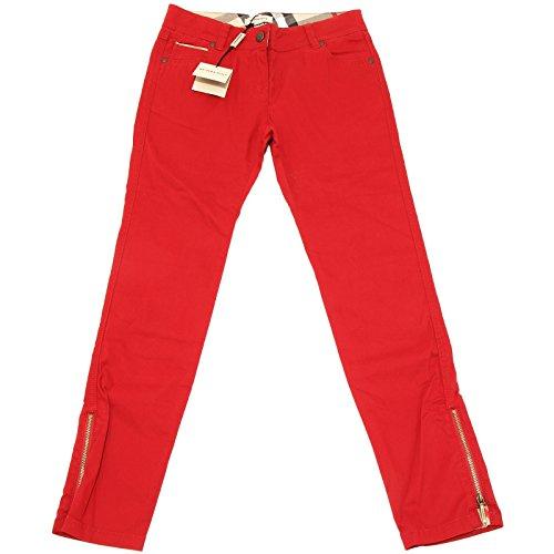 BURBERRY 3420H Pantaloni Bimba Check Pantalone Cotone Trousers Pants Kids [14 years]
