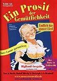 Ein Prosit der Gemuetlichkeit - arrangiert für Bigband [Noten / Sheetmusic] Komponist: Muessig Rudolf + Leis Bendorff Christoph