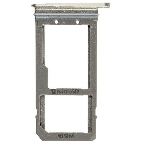 und SD Halter gold für Samsung G930F Galaxy S7 (Sim SD Holder, Tray) - GH98-39260C ()