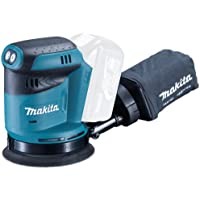 Makita DBO180Z Cordless Body Only Cordless 18 V Li-ion Random Orbit Sander, 125 mm