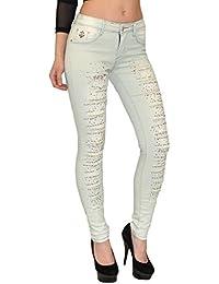 Jean femme skinny Jeans femmes bleu pantalon en jean jeans déchirés femme  jean slim ... fbc6e80b949d