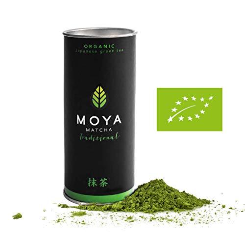 Organic Moya Matcha Tea Green Powder | 30g Traditional Grade (II) | Perfect for Drinking with Water, Lattes, Smoothies & Lemonades