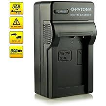 ¡Novedad! – El primero cargador de batería con conexión micro USB · adecuado para la batería NB-7L para Canon PowerShot G10   G11   G12   SX30 IS y mucho más…