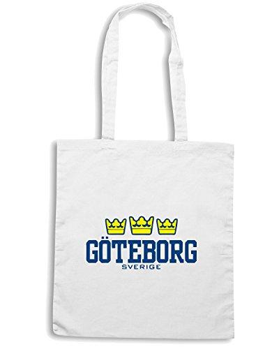 T-Shirtshock - Borsa Shopping TSTEM0041 goteborg sverige Bianco