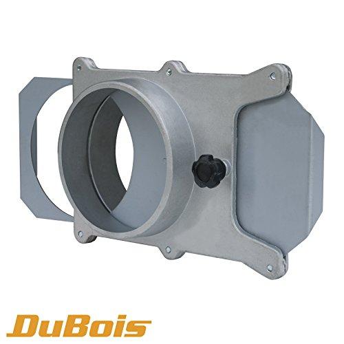 Dubois R7013510,2cm aluminum Blast Gate for Vacuum/Dust Collector