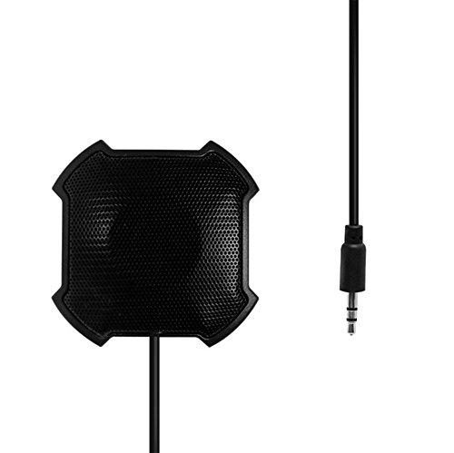 Micrófono de condensador, de sobremesa, de 360grados, omnidireccion