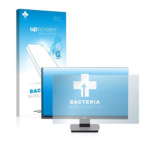 upscreen Protector de Pantalla Mate para HP 24w Película Protectora Antibacteriana - Anti-Reflejos, Anti-Huella