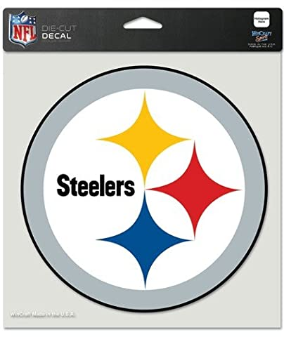 NFL Aufkleber 20 x 20 cm Pittsburgh Steelers