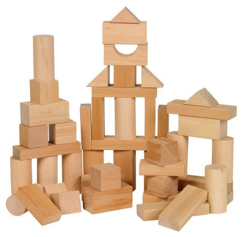 Small World Toys Ryan's Room Wooden Toys - Bag O' Blocks, Natural Wood by...
