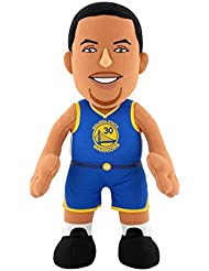 NBA Golden State Warriors Stephen Curry Plush Figure, 10, Gold by Bleacher Creatures