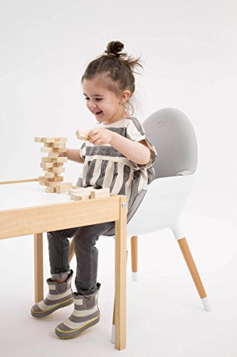 Kinderkraft FINI Kinderhochstuhl Treppenhochstuhl Babyhochstuhl Kombihochstuhl Hochstuhl - 9