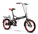 Bicicleta Plegable Adulto Aluminio Bicicleta Unisex Bike