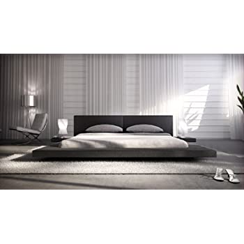 designer massivholz bett japan stil flaches futonbett. Black Bedroom Furniture Sets. Home Design Ideas