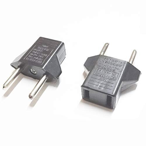Bucom US Plug zu EU Lade Strom Netz Converter Travel Power Adapter Stecker 6 Ampere 125V-250V für Apple