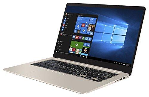 ASUS VivoBook S510UQ-BQ189T 2 50GHz i5-7200U 15 6  1920 x 1080pixels Gold Notebook