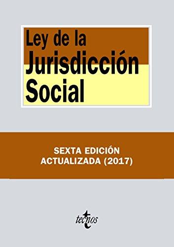 Ley de la Jurisdicción Social (Derecho - Biblioteca De Textos Legales) por Editorial Tecnos
