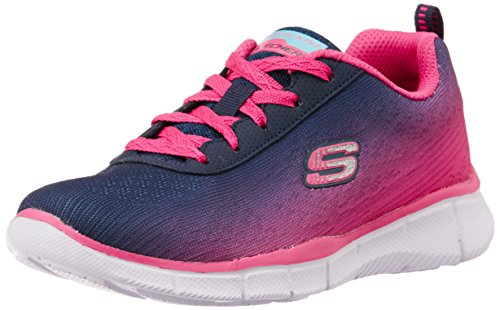 Skechers Equalizer, Girls' Multisport Outdoor Shoes, Blue (Nvhp - Navy Hot Pink),...