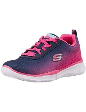 Skechers Equalizer - Zapatillas de running de sintético para niña azul azul 17