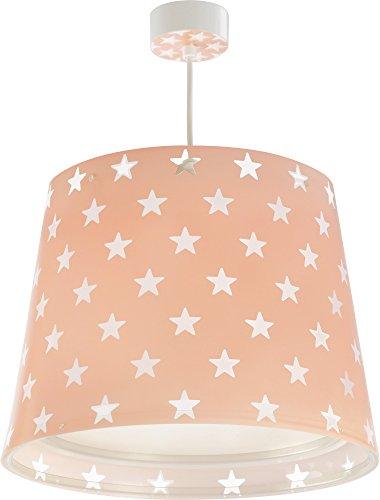 LED Lampe Kinderzimmer Decke Pendelleuchte Sterne 81212S RGB-CCT 1100 Lumen Mädchen