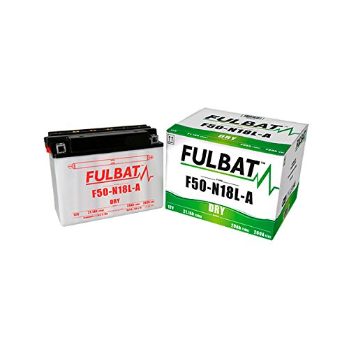 Batería FULBAT Y50-N18L-A 12V 20Ah 260A Largo: 205 x Ancho: 90 x Alto 162 (mm)