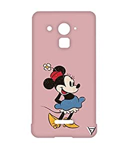 Vogueshell Minnie Mouse Printed Symmetry PRO Series Hard Back Case for Coolpad Note 3 Plus