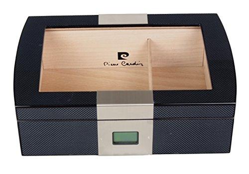 Pierre Cardin Carbon Designhumidor digital inkl. Lifestyle-Ambiente-Befeuchter & inkl. Lifestyle-Ambiente Tastingbogen