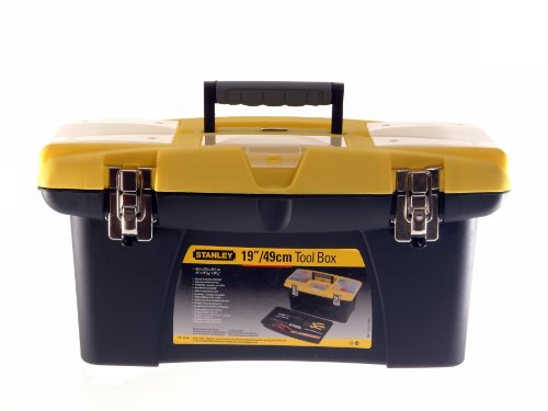 Stanley STA192906 - 1-92-906 jumbo toolbox 19 pollici con vassoio (vecchia versione)