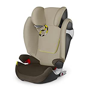 cybex solution m fix booster car seats limestone amazon. Black Bedroom Furniture Sets. Home Design Ideas
