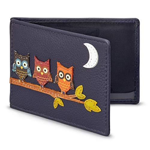 Diseño búhos tarjeta Oyster/Billetera tarjeta transporte