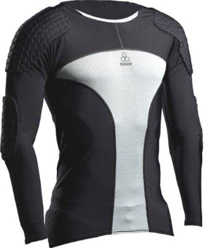 McDavid Herren Hex Pro Style Fußball Torhüter Shirt Extreme II, Schwarz/Grau, S, 7738RT-BGR (Mcdavid Hexpad Shirt)