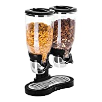 Dispenser per cereali RCCS-6L/2 di Royal Catering Conserva ermeticamente gli alimenti nel dispenser per cereali RCCS-6L/2 e vizia i tuoi ospiti offrendo loro cereali sempre croccanti e semplici da dosare. Il dispenser per cereali RCCS-6L/2 de...
