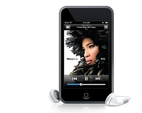 Apple iPod Touch MP3-Player mit integrierter WiFi Funktion 8 GB schwarz