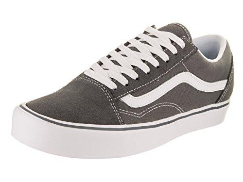 tela Nero Canvas Nero Adulte Mixte Ua Old Peltro Furgoni Lite Bassi Skool Sneakers Camoscio w4PnR86p