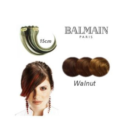 Balmain - Hmu 1Pc Colorfringe 15 Cm Walnut
