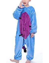 YOGLY Pijamas de Niños Burro de Dibujos Animados Animal Pijamas Ropa Infantil Cosplay