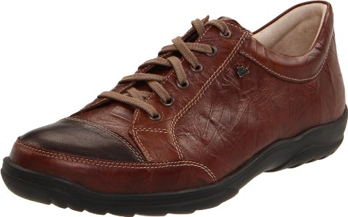 Finn Comfort Mens 1288 Alamo Brown Leather Shoes 40 EU - Comfort Finn Herren