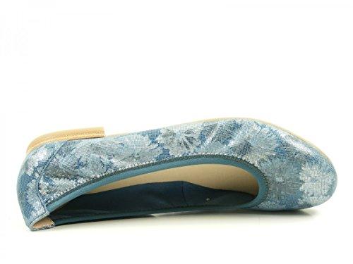 Caprice 22100, Ballerines Femme Blau