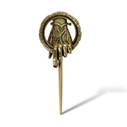 Game of Thrones - Il Trono di Spade - Spilla della mano del re di Eddard Stark - Pin originale tratto dal telefilm - In confezione regalo