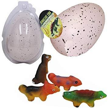 3x Dinosaurier Ei Hatch Grow Wasser Magic Toy Fun Geschenk Pet Dino wachsenden groß neuen