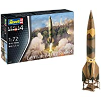 Revell- German A4/V2 Rocket Kit Modelo, Multicolor (03309)