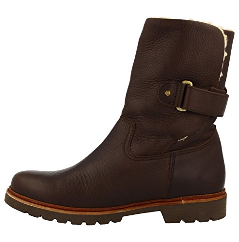 PANAMA JACK BOOT Felio C6 AVIATOR BROWN Braun