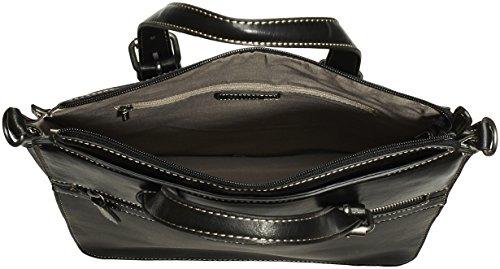 Tamaris JODY Tote Bag 1370142-001 Damen Henkeltaschen 32x34x9 cm (B x H x T) Schwarz (Black 001)